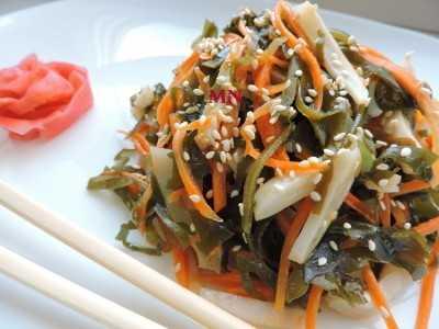 Самый вкусный салат с кальмарами и пекинской капустой — простые рецепты приготовления