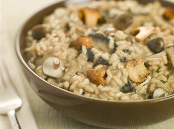 Рецепт ризотто с грибами белым вином и курицей кулинарный блог александра афанасьева
