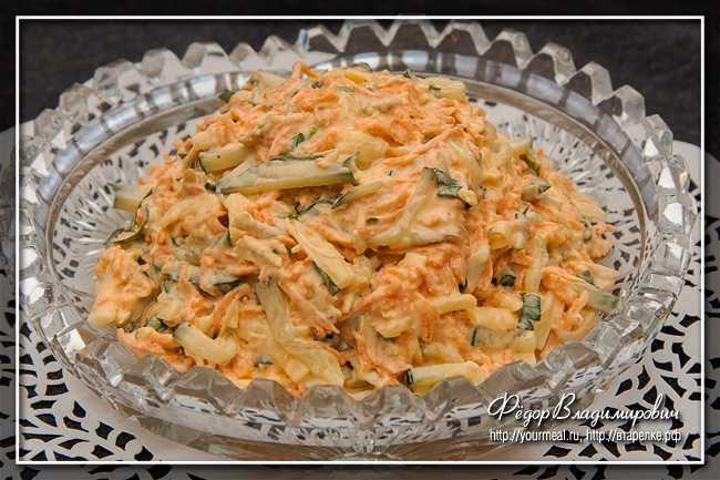 Салат «лисичка под шубой» - вкусные рецепты с курицей и горбушей
