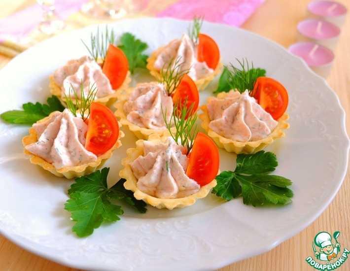 Тарталетки с авокадо:  пошаговый рецепт с фото