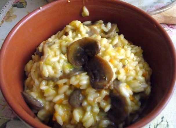 Ризотто с курицей и грибами — 7 рецептов как вкусно приготовить дома