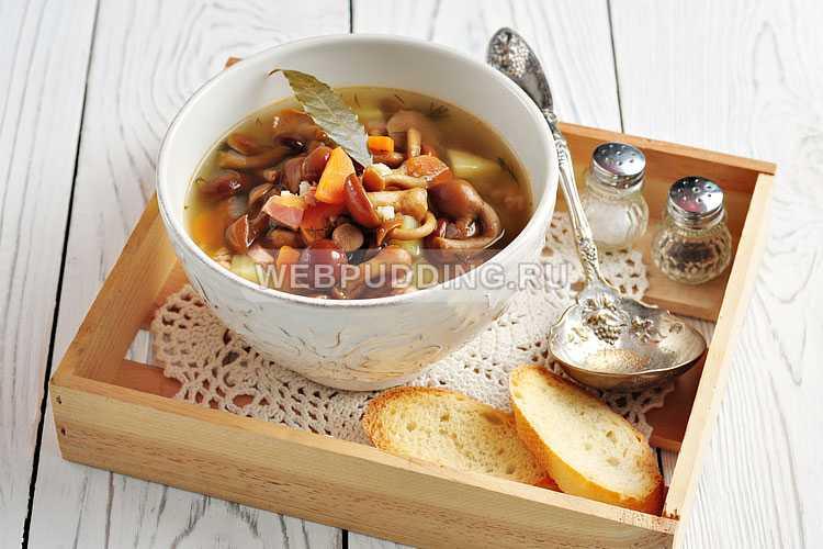 Суп из лисичек замороженных