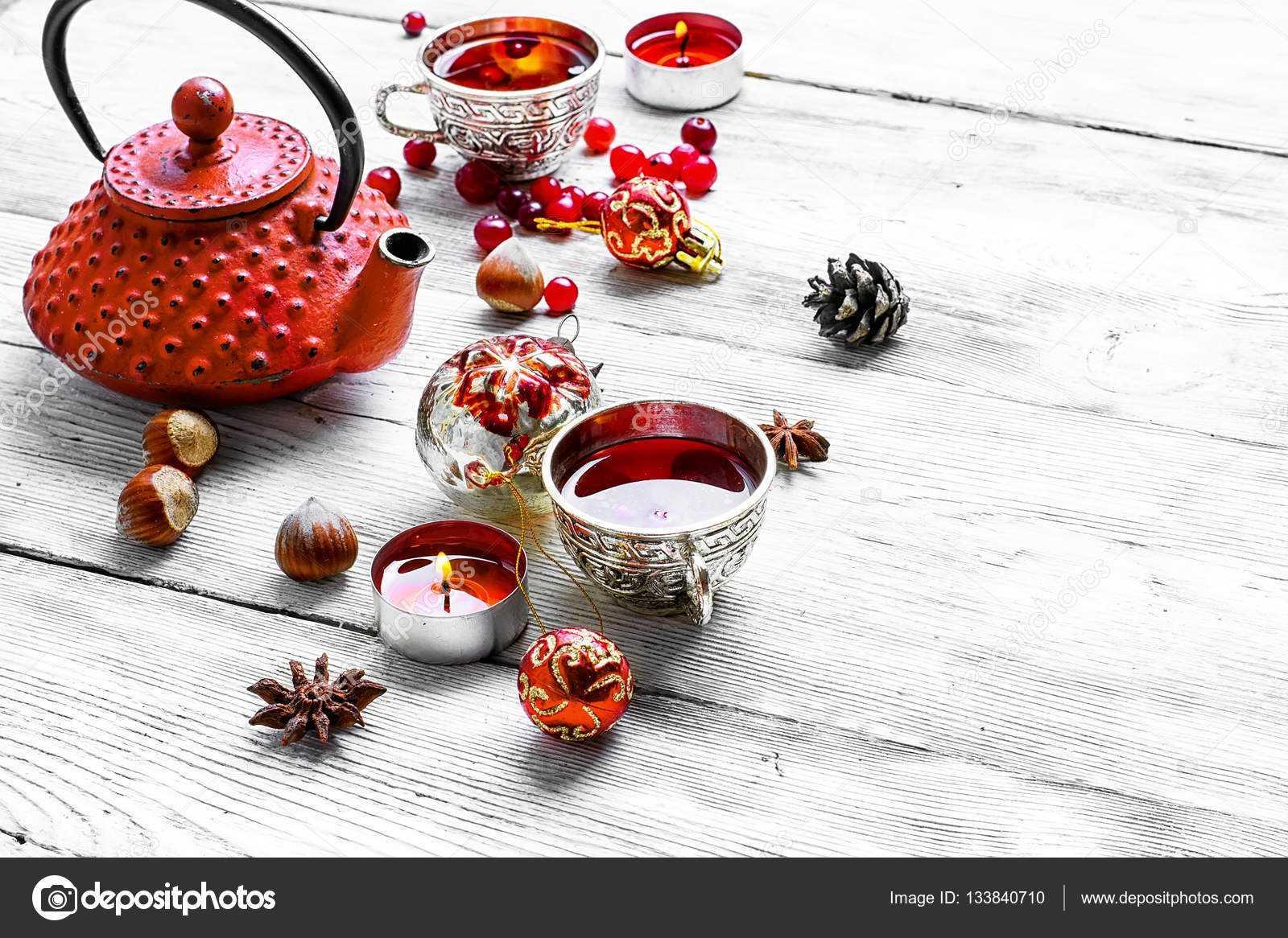 Чай с клюквой – рецепты