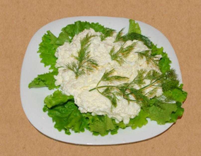Салат с плавленным сыром - 85 домашних вкусных рецептов приготовления
