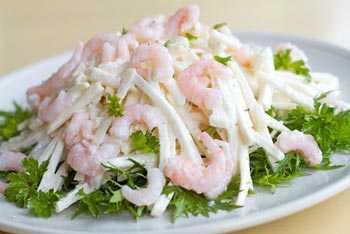 """Салат """"морская звезда"""". салат из морепродуктов: рецепты"""