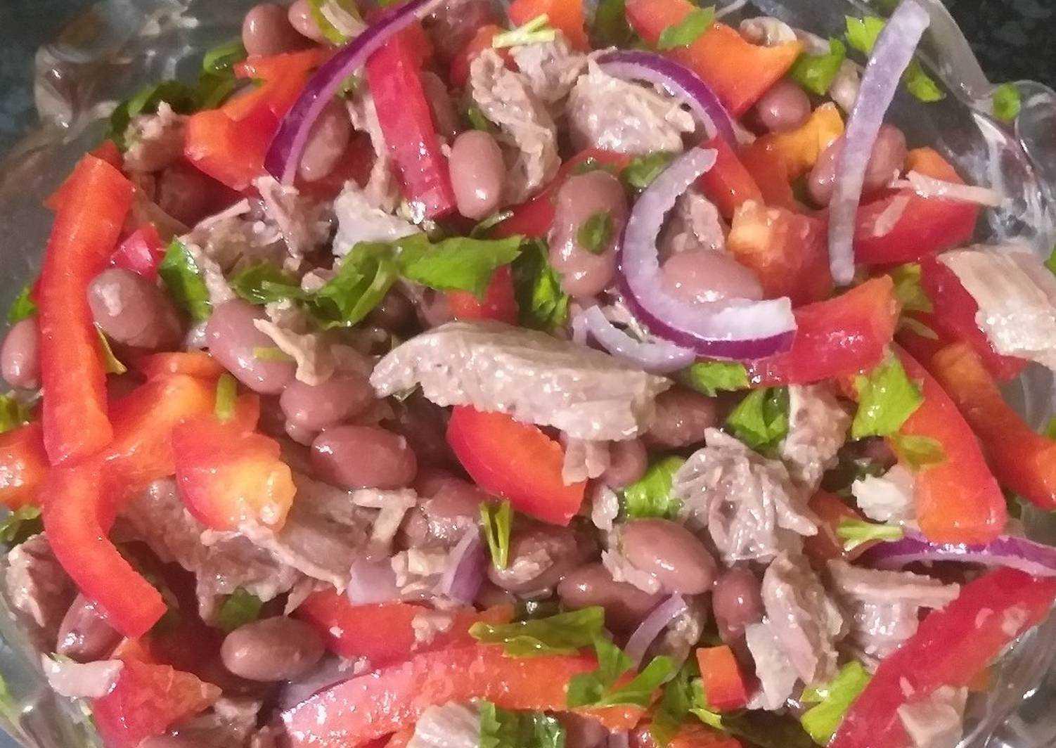 Салат тбилиси говядина красная фасоль болгарский перец