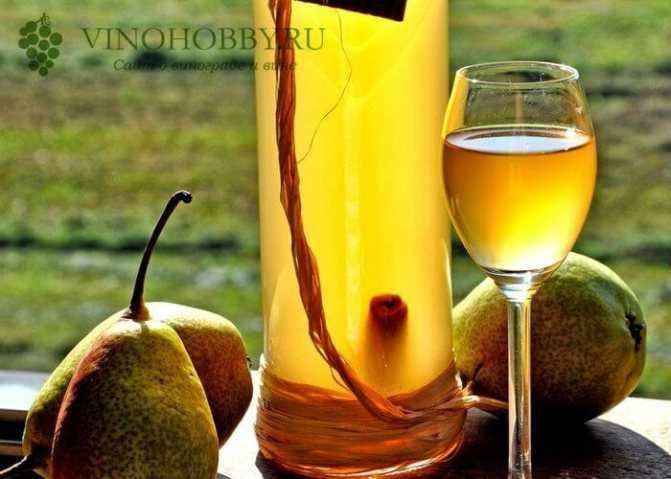 Вино из груш сухое, десертное или крепленое - как сделать с добавлением лимона, меда или сока рябины