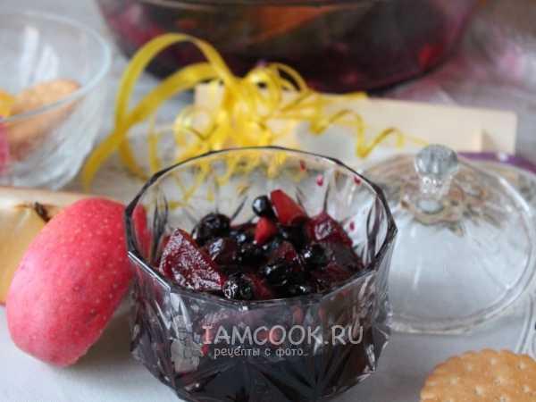 Варенье из черноплодки с яблоками: простой рецепт на зиму с фото и видео