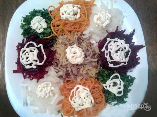 Рецепт: салат чафан