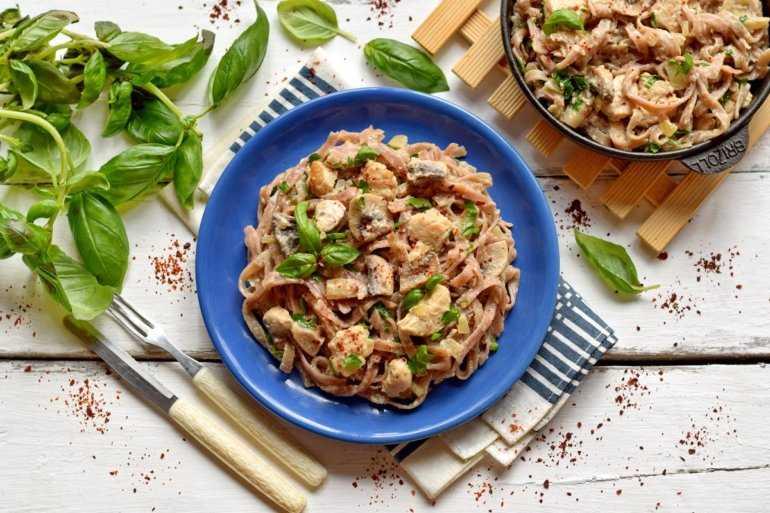 Фетучини с грибами: простые рецепты для домашнего приготовления