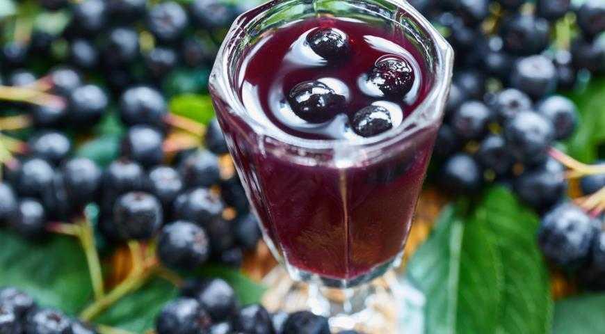 Настойка из черноплодной рябины - полезные свойства и как готовить с листьями вишни, лимоном или гвоздикой