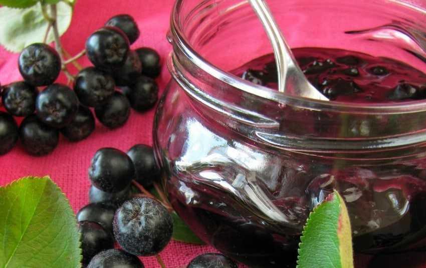 Варенье из черноплодной рябины: как варить, рецепты на зиму