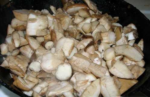 Жареные подосиновики с картошкой — рецепты приготовления