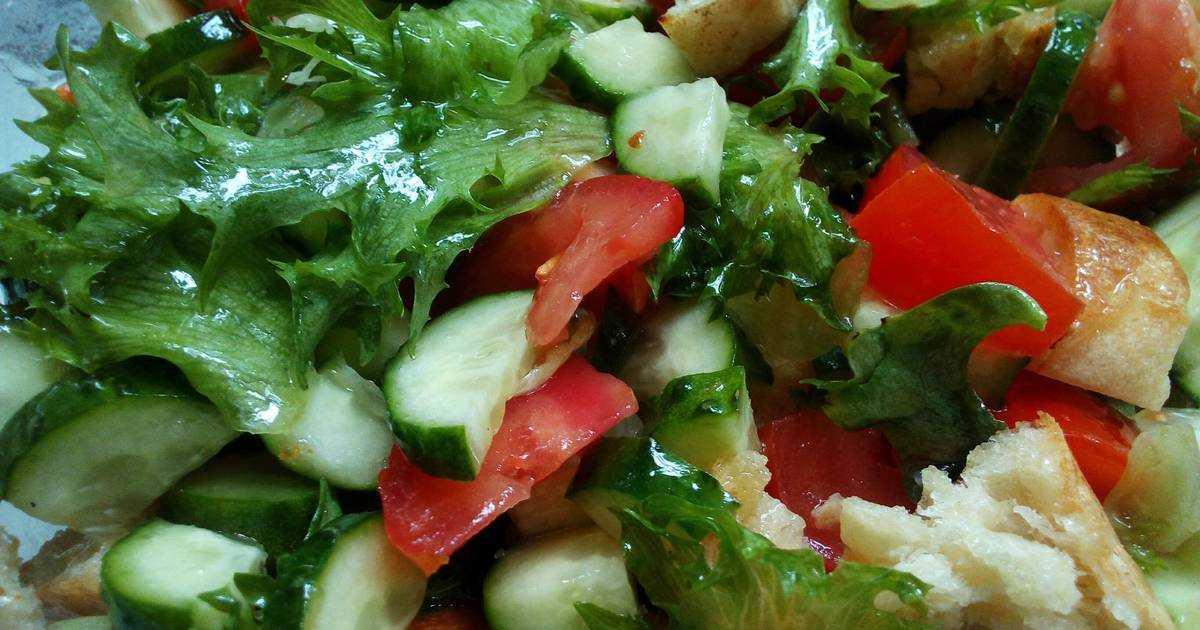 Рецепт салата из помидоров с брынзой - 6 пошаговых фото в рецепте