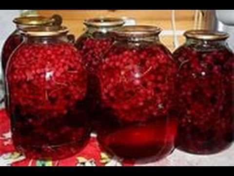 Компот из черной смородины на зиму – рецепты на 3 литровую банку