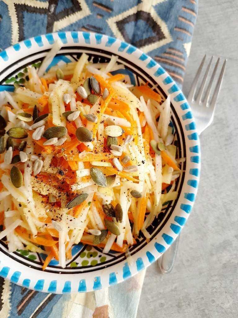 Рецепты салат из кольраби