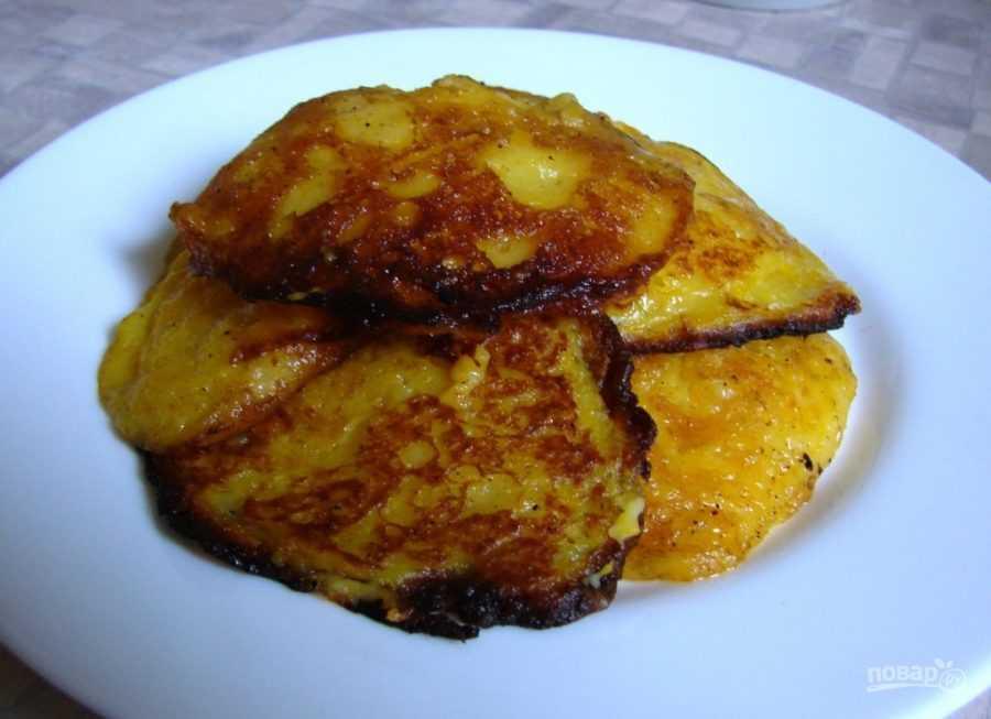 Оладьи из тыквы - самый вкусный рецепт теста с яблоками, картофелем и кабачками