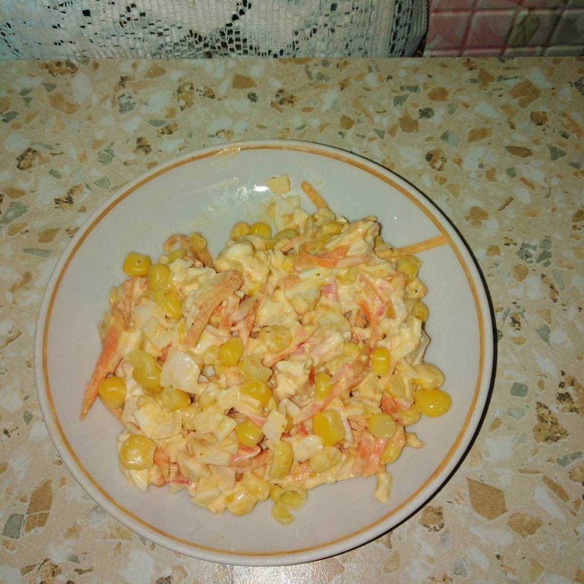 Рецепты салат с кириешками