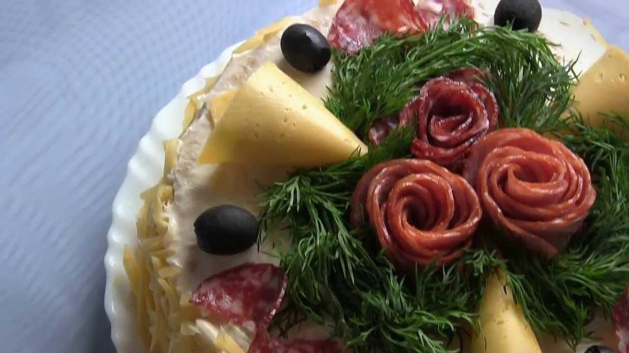 Рецепты салат с крекером