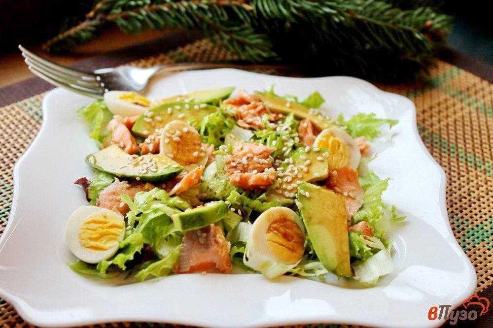 Салат с омлетом – 6 рецептов