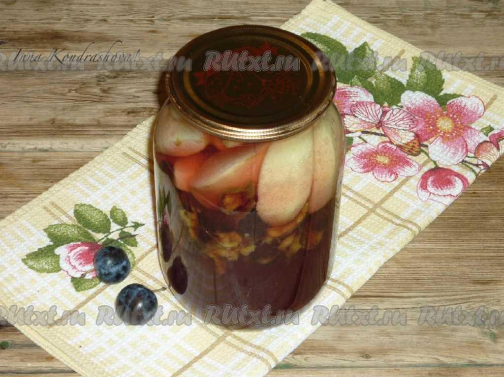 Компот из терна на каждый день - лучшие рецепты от gemrestoran.ru
