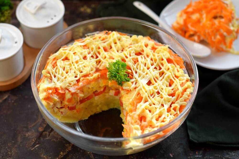"Салат ""легкий флирт"" рецепт с фото пошагово - 1000.menu"