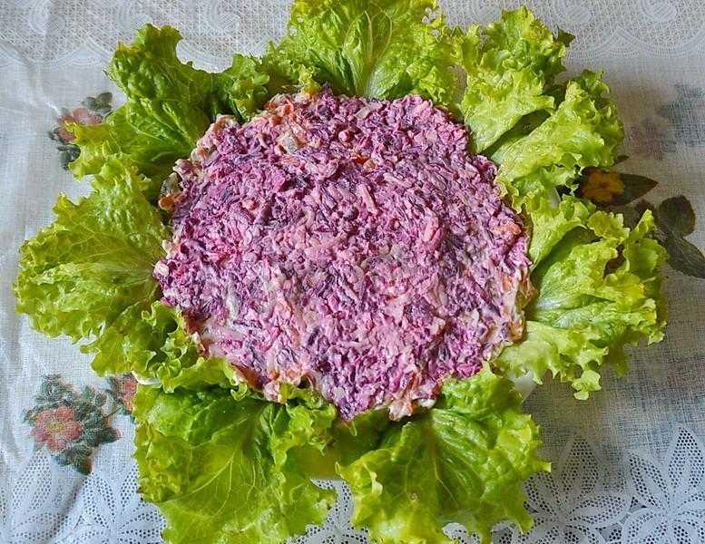 Праздничный салат «букет» — пошаговый рецепт с фото