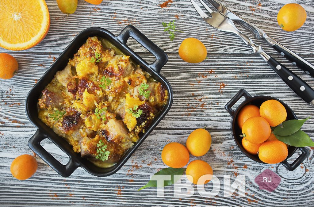 Свинина с апельсинами: в духовке, пошаговые рецепты с фото, в мультиварке - агрономия