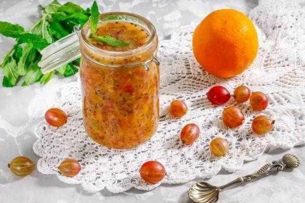Варенье из крыжовника с апельсином на зиму - оригинальные рецепты приготовления необычного лакомства