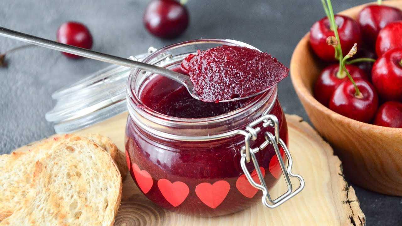 Вишня в желе на зиму: рецепты с желатином, как правильно приготовить, хранение