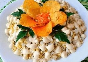 Топ 10 рецептов нежного и оригинального салата «сугроб»