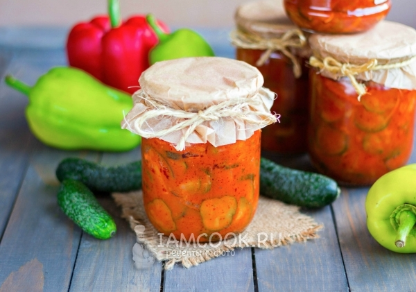 Лечо с томатной пастой - рецепт. как приготовить лечо :: syl.ru