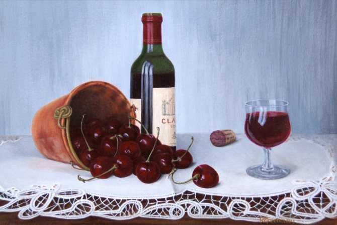 Вино из вишни в домашних условиях, простой рецепт домашнего вина из вишни