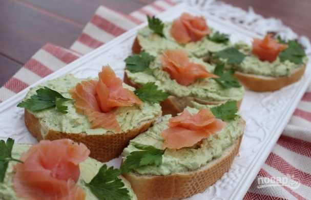 Бутерброды с красной рыбой - простые и вкусные рецепты на праздничный стол
