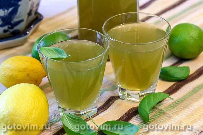 Компот лимонный