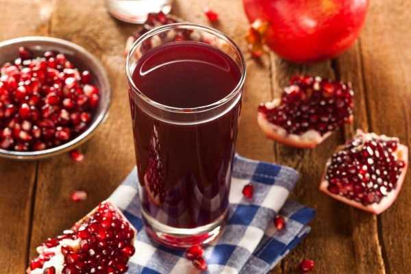 Гранатовый сок - польза напитка и несколько способов его приготовления