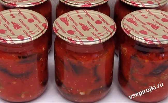 Баклажаны в аджике на зиму: обалденные рецепты без стерилизациибаклажаны в аджике: 9 супер рецептов аппетитной закуски