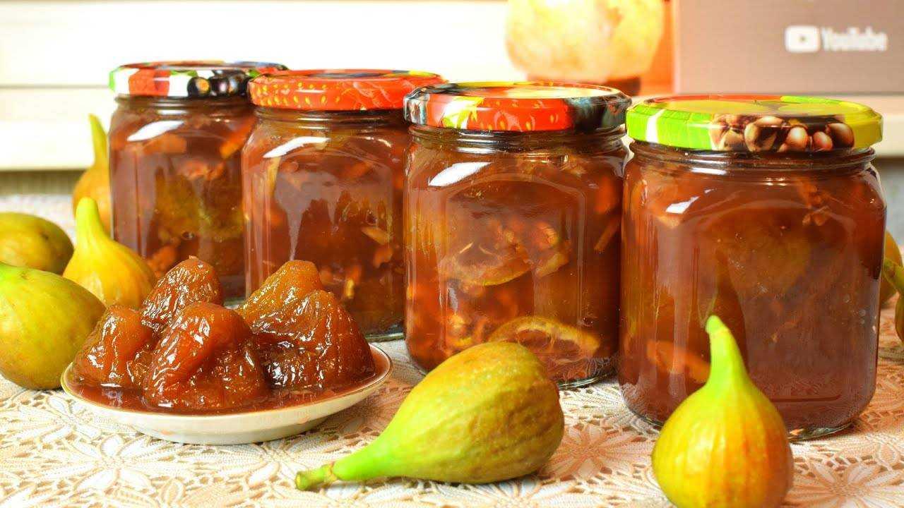 Варенье из инжира: рецепты приготовления с фото пошагово