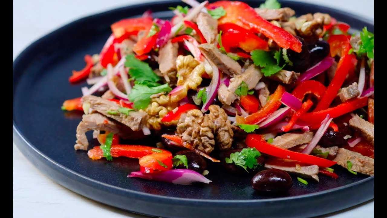 Салат тбилиси с курицей рецепт с фото - 1000.menu
