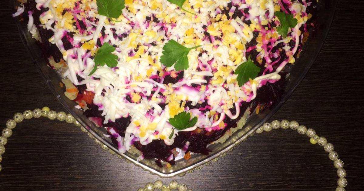 Салат с курицей и свеклой   вкусные рецепты приготовления
