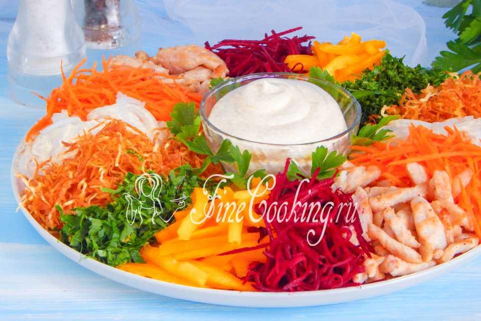 10 самых вкусных рецептов салата «чафан»