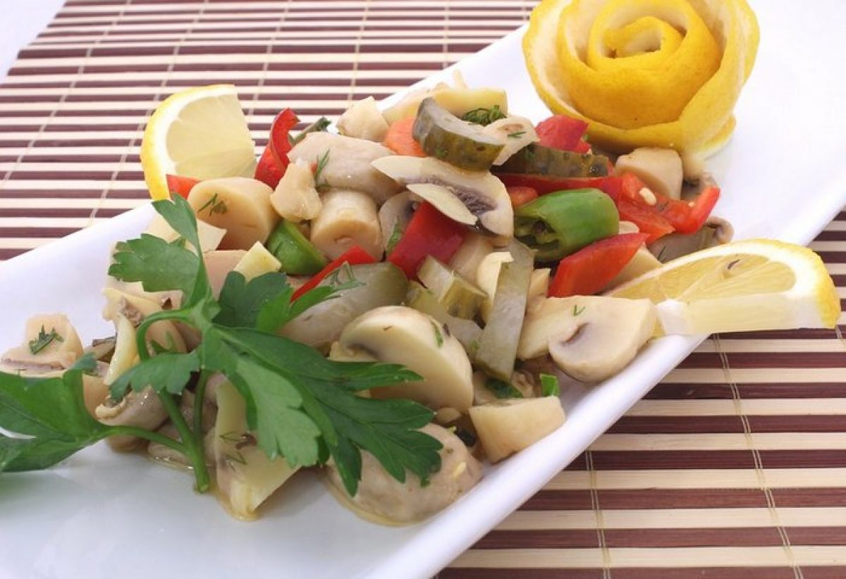 Салаты - рецепты заготовок