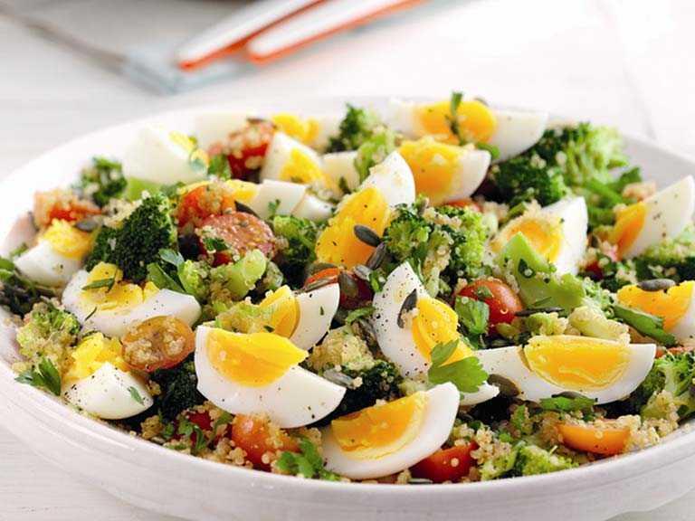 Салат с яйцами и чесноком - 190 рецептов приготовления пошагово - 1000.menu