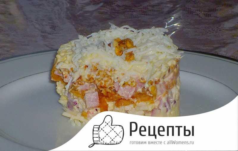 Салат снежная королева - пошаговый рецепт с фото