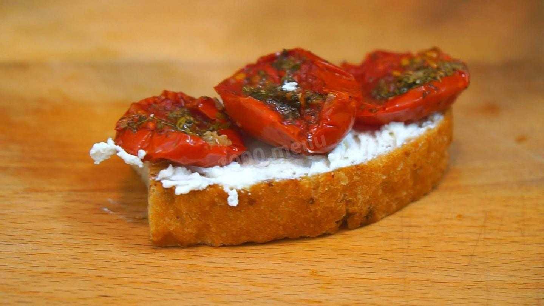 Итальянские бутерброды брускетта – как готовят и едят популярную закуску в италии