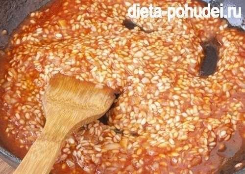 В грибной сезон всегда готовлю ризотто с лисичками. легкое, питательное и вкусное блюдо