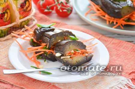 Рецепты квашеных баклажанов с морковью, зеленью и чесноком