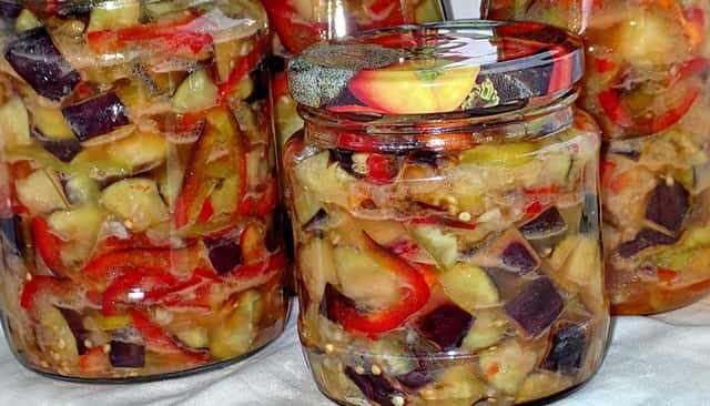 Баклажаны по-грузински - пошаговые рецепты приготовления блюд на зиму или на каждый день с фото