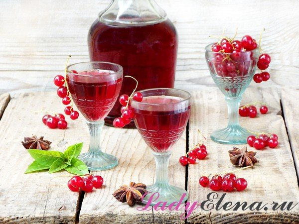 Коньячные, спиртовые и водочные наливки из смородины. рецепты домашних наливок из смородины чёрной и красной