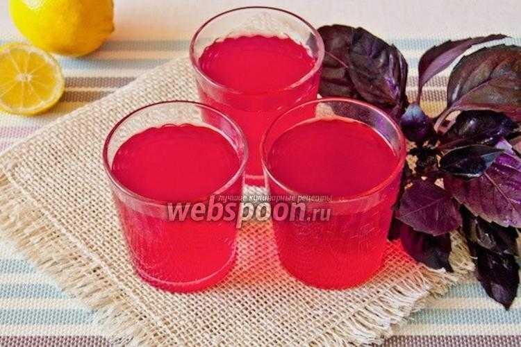 Лимонад с базиликом в домашних условиях: рецепты с фото